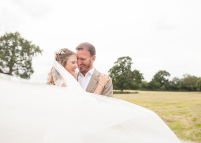 Outdoor Norfolk Wedding | Kelle & Nigel
