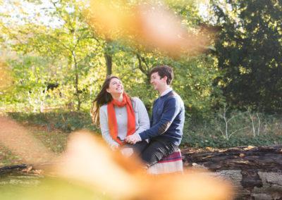 Autumn Engagement Photography | North Norfolk | Ellie & Henry
